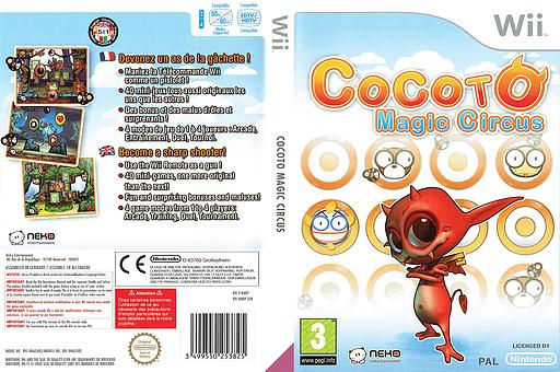 Cocoto Magic Circus Wii cover (RMRPNK)