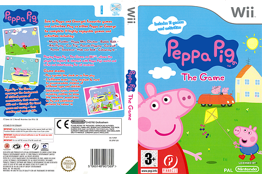 Peppa Pig: The Game Wii cover (RPHPPN)