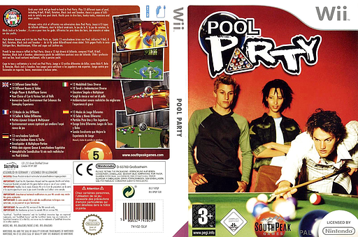 Pool Party Wii cover (RPQPS5)