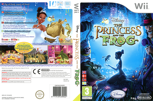 Disney: The Princess and the Frog Wii cover (RU5V4Q)