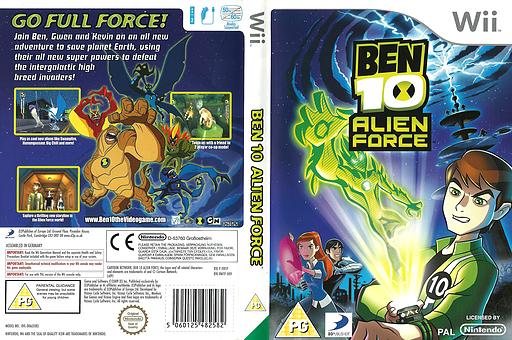 Ben 10: Alien Force Wii cover (RWTPG9)