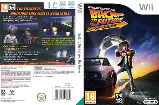 Back to the Future: The Game Wii cover (S5BPKM)