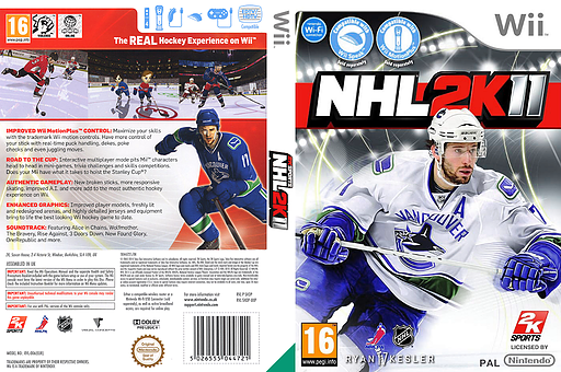 NHL 2K11 Wii cover (SH3P54)