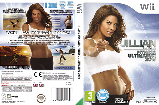 Jillian Michaels Fitness Ultimatum 2010 Wii cover (SJMPGT)