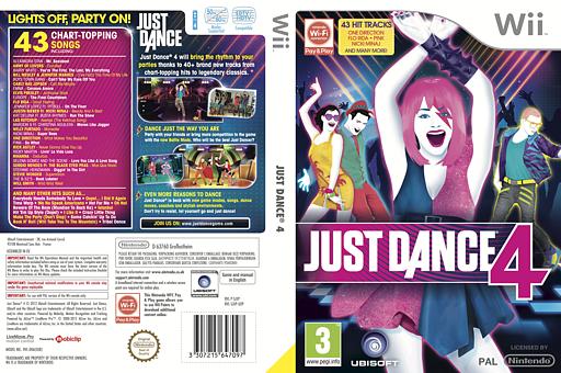 Just Dance 4 Wii cover (SJXP41)