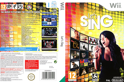 Let's Sing Wii cover (SLFPKM)