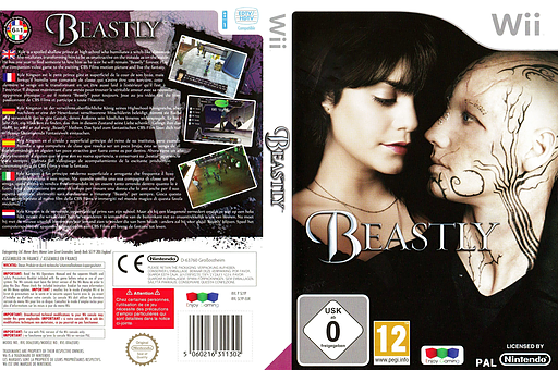 Beastly Wii cover (SLYPNJ)