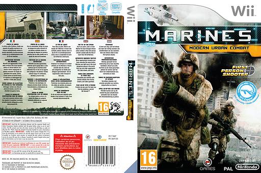 Marines:Modern Urban Combat Wii cover (SMAPGN)