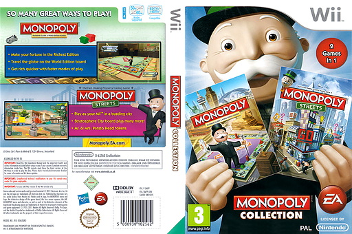 Monopoly Collection Wii cover (SMPP69)