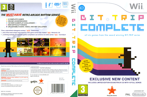 BIT.TRIP COMPLETE Wii cover (SVTP99)
