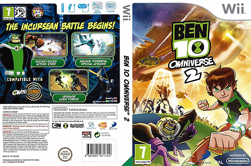 Ben 10: Omniverse 2 Wii cover (SVYPAF)