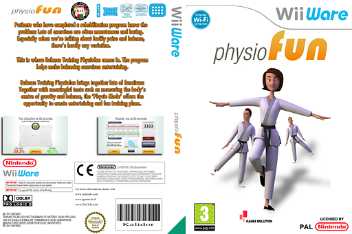 Physiofun - Balance Training WiiWare cover (W2FP)