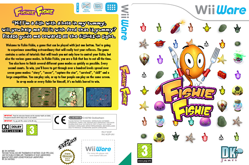 Fishie Fishie WiiWare cover (W2IP)