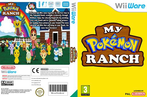 My Pokémon Ranch WiiWare cover (WBMP)