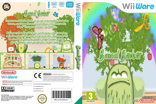 Bonsai Barber WiiWare cover (WBNP)