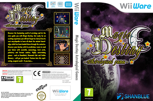 Magic Destiny Astrological Games WiiWare cover (WDEP)