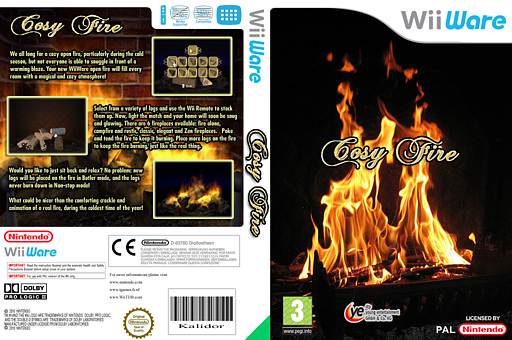 Cosy Fire WiiWare cover (WFXP)