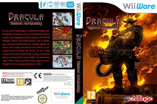 Dracula: Undead Awakening WiiWare cover (WIDP)