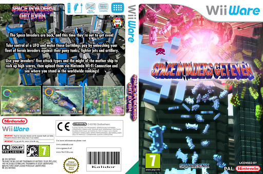 Space Invaders Get Even WiiWare cover (WIVP)