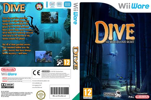 Dive: The Medes Islands Secret WiiWare cover (WMJP)
