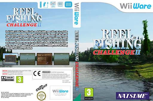 Reel Fishing Challenge II WiiWare cover (WRFP)