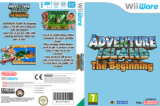 Adventure Island: The Beginning WiiWare cover (WTMP)