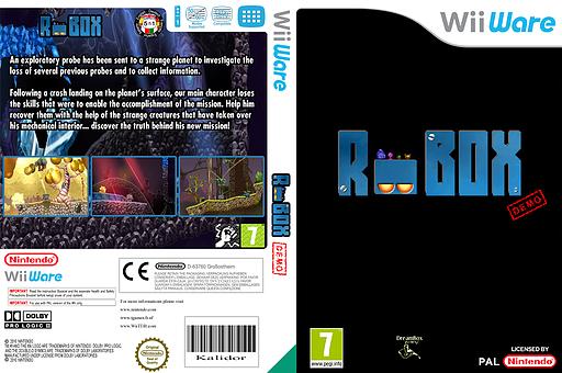 Robox (Demo) WiiWare cover (XH6P)