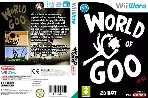 World of Goo (Demo) WiiWare cover (XHFP)