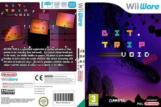 BIT.TRIP VOID (Demo) WiiWare cover (XHWP)