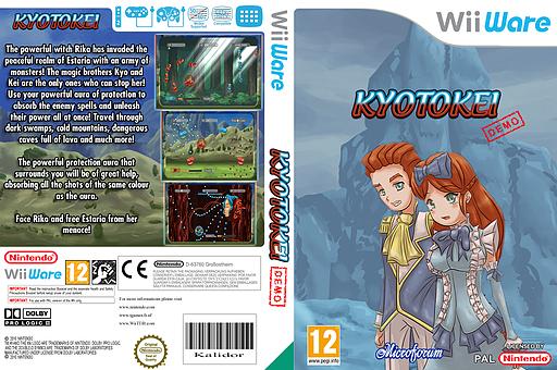Kyotokei (Demo) WiiWare cover (XI2P)