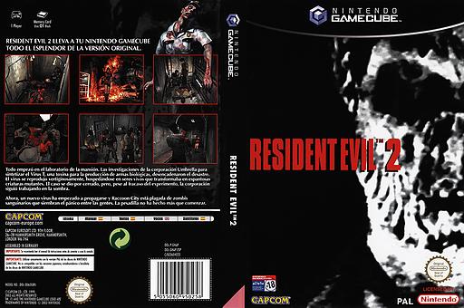 Resident Evil 2 GameCube cover (GHAP08)