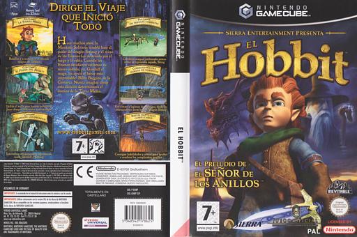 El Hobbit GameCube cover (GHBP7D)