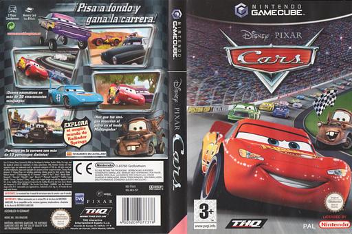 Cars GameCube cover (GKJS78)