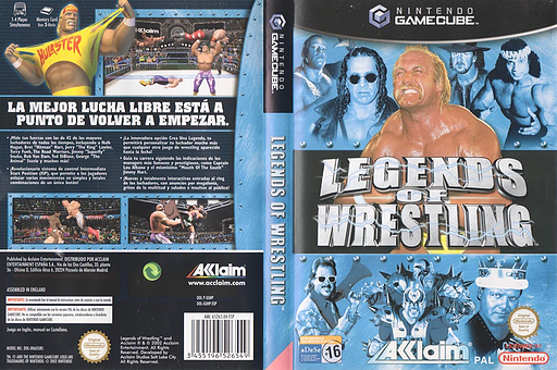 Legends of Wrestling GameCube cover (GLWP51)