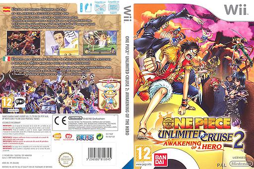 One Piece - Unlimited Cruise 2: El Despertar de un Héroe Wii cover (RIUPAF)