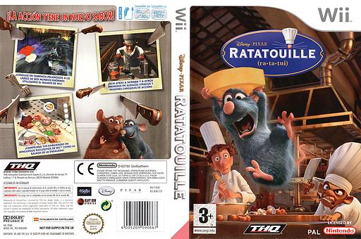 Ratatouille Wii cover (RLWZ78)