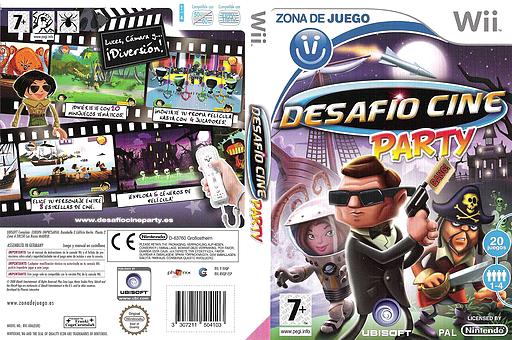 Desafío Cine Party Wii cover (RVQP41)