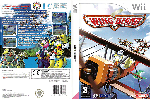 Wing Island Wii cover (RWIP18)