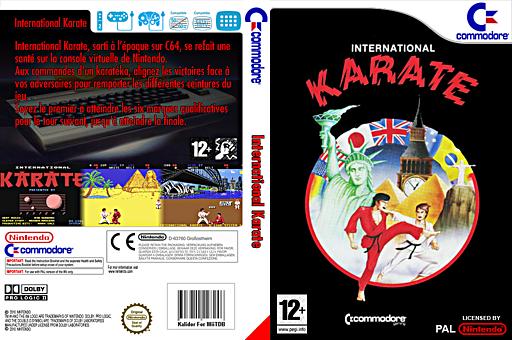 International Karate pochette VC-C64 (C9YP)
