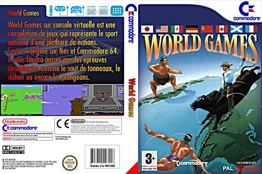 World Games pochette VC-C64 (C9ZP)