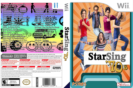 StarSing:'70s v2.3 pochette CUSTOM (CS5P00)