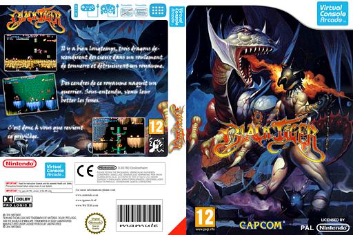 Black Tiger pochette VC-Arcade (E53P)