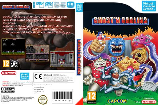 GHOSTS'N GOBLINS pochette VC-Arcade (E54P)