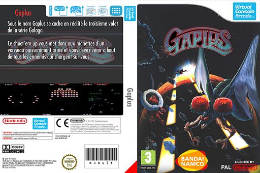 Gaplus pochette VC-Arcade (E79P)