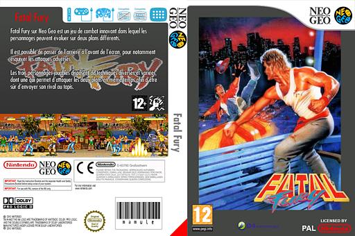 Fatal Fury pochette VC-NEOGEO (EAAP)