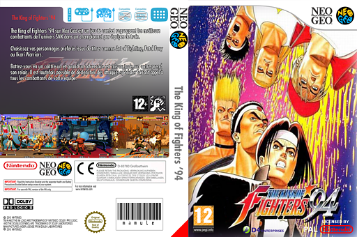 The King of Fighters '94 pochette VC-NEOGEO (EAGP)