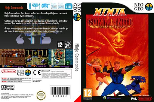 Ninja Commando pochette VC-NEOGEO (EAPP)