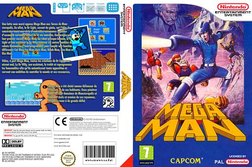 Mega Man pochette VC-NES (FCTP)