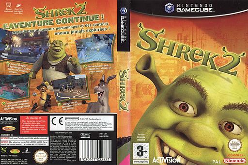 Shrek 2 pochette GameCube (G3RF52)