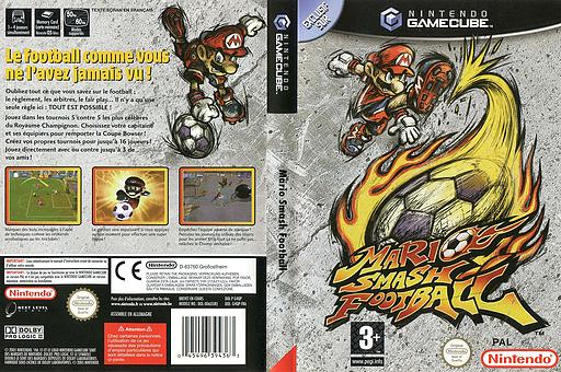 Mario Smash Football pochette GameCube (G4QP01)